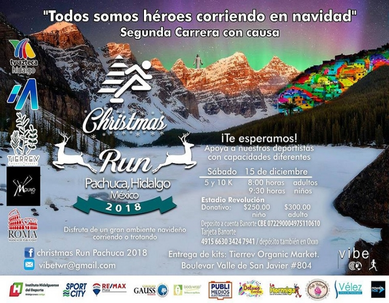 Christmas Run Pachuca 2018